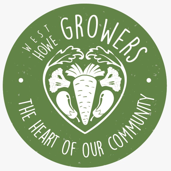 west howe growers growing veg group community garden